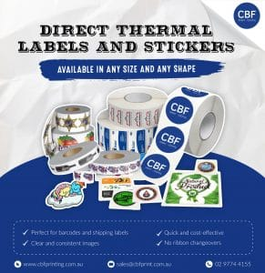 direct thermal label ad